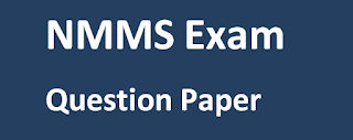 NMMS Exam Question Paper 2017-18 & Answer Key Paper, Telugu , Hindi