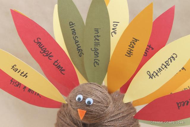 upclose thankful turkey