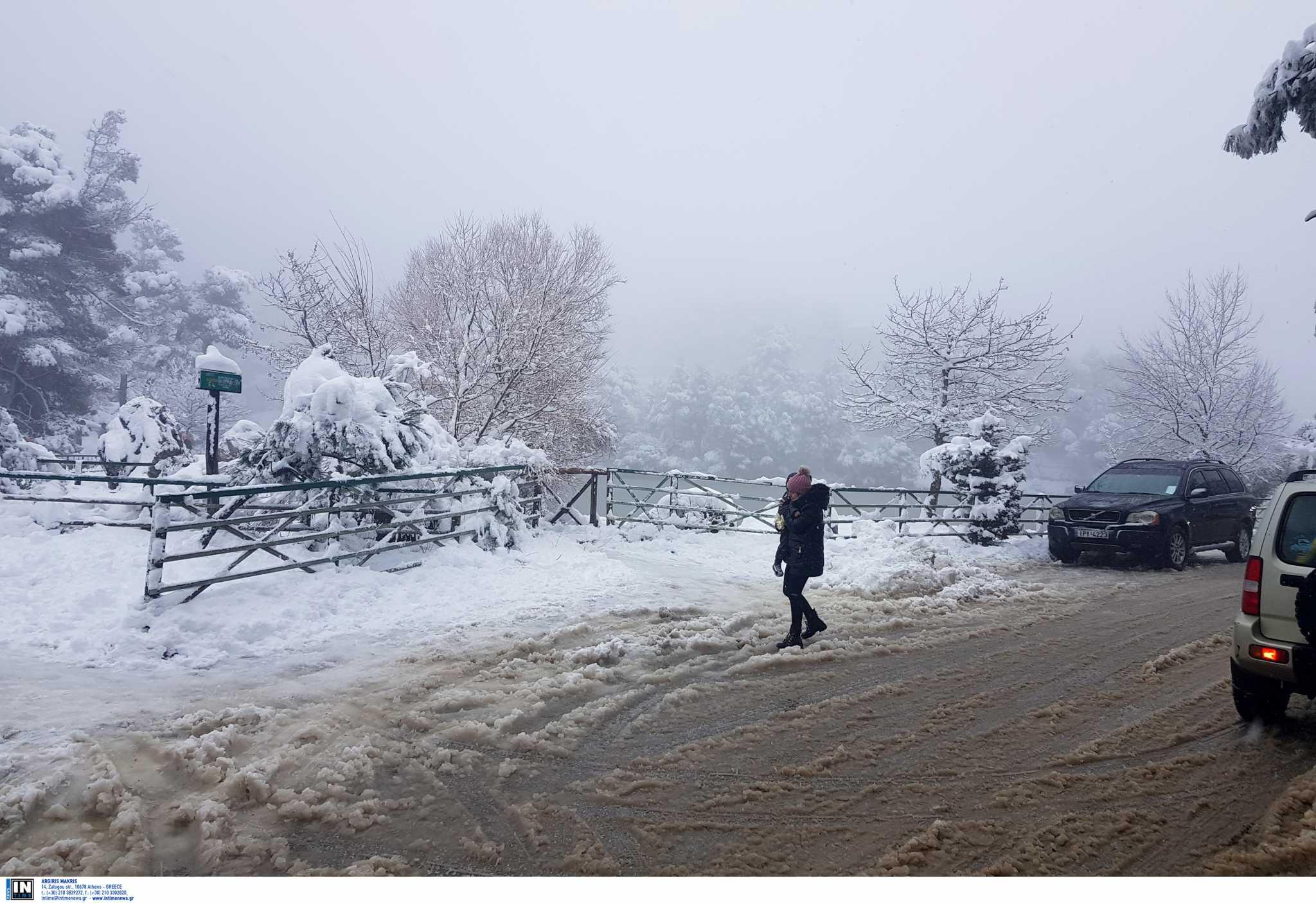 Καιρός σήμερα: Στην κατάψυξη όλη η χώρα – Πού θα χιονίσει