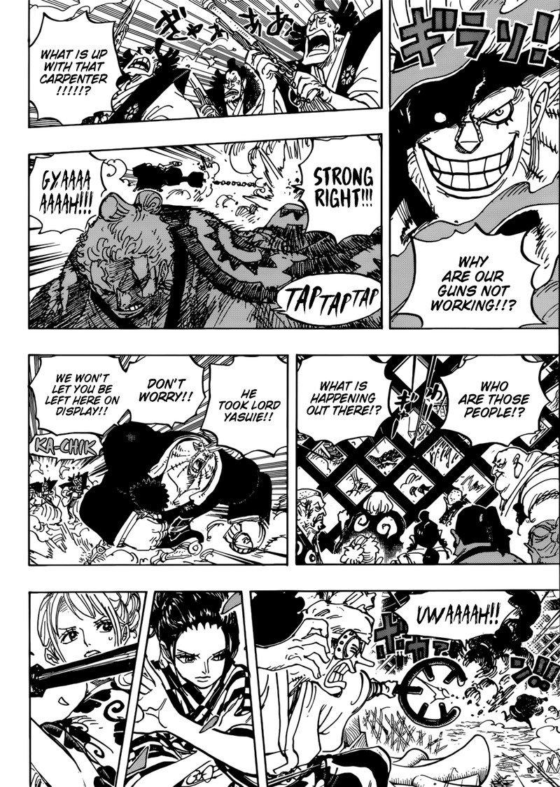 One Piece Manga Chapter 944 - Image 008