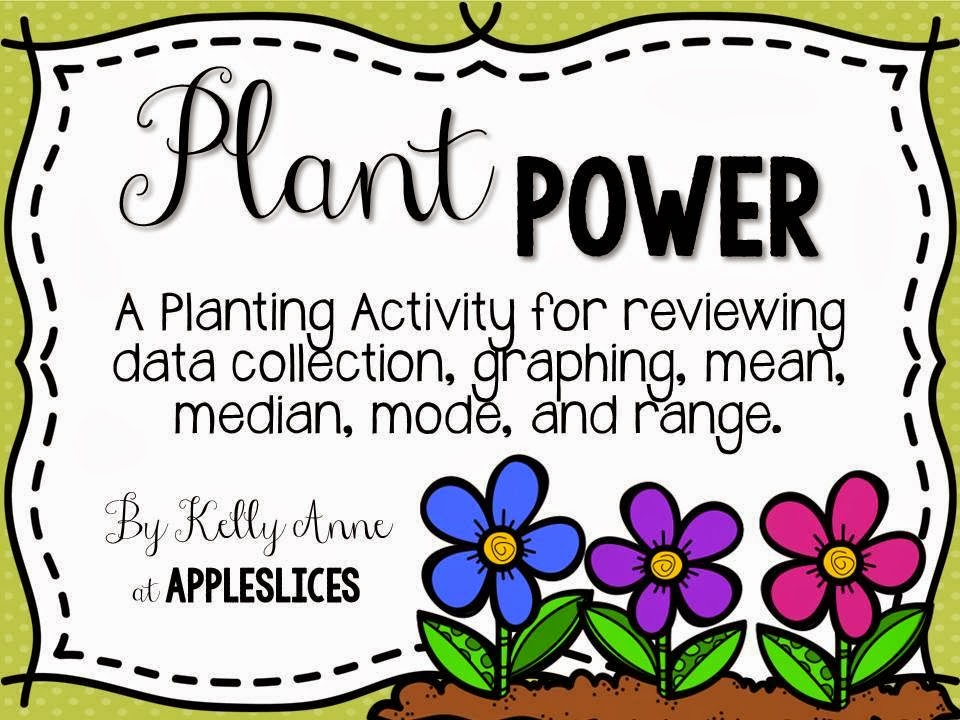 http://www.teacherspayteachers.com/Product/Plant-Power-Exploring-Data-Collection-1146653