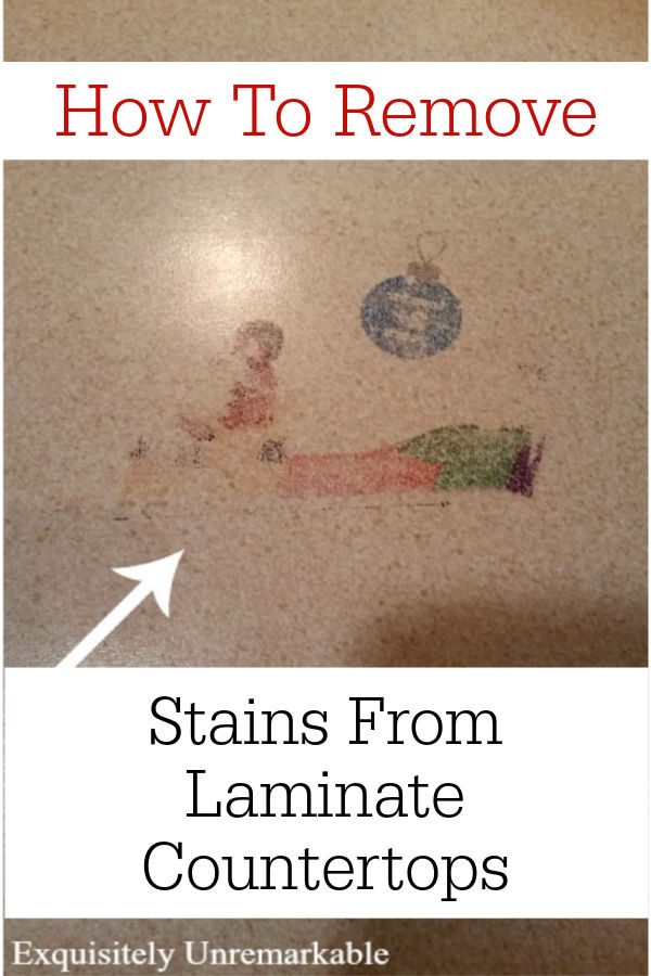 How To Remove Stains From Laminate Countertops