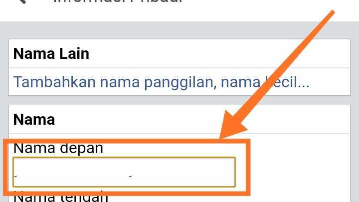 Cara Membuat Profil fb kosong