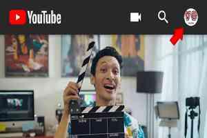 Profile akun youtube