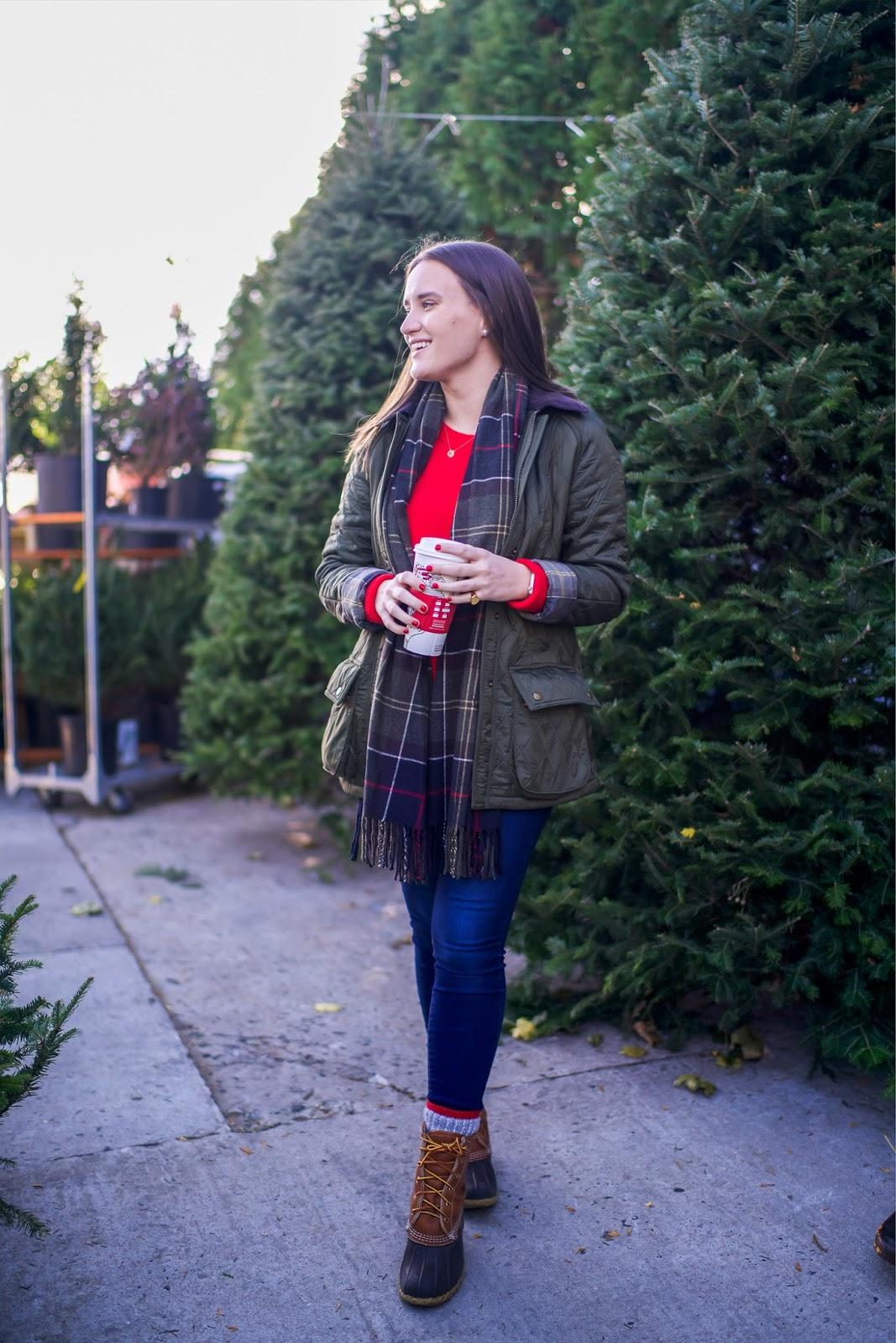 Ll Bean Christmas Trees.New Barbour Christmas Tree Shopping New York City
