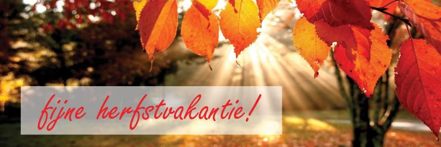 VBS Heilig Hart: Fijne herfstvakantie