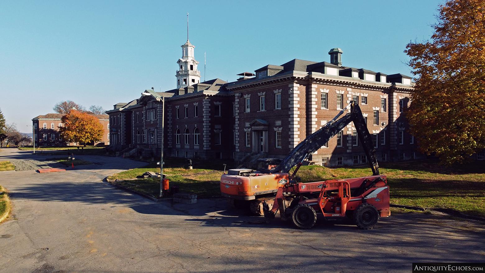 Allentown State Hospital - Prepping for Demolition