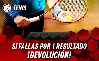 sportium Tenis: Combinadas 'con seguro' hasta 4 agosto 2019
