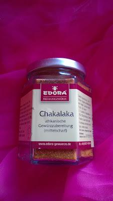 Chakalaka Gewürz im Glas