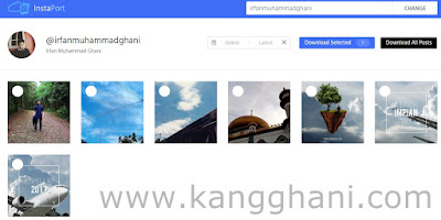 Cara Download Foto Instagram dari Android atau PC