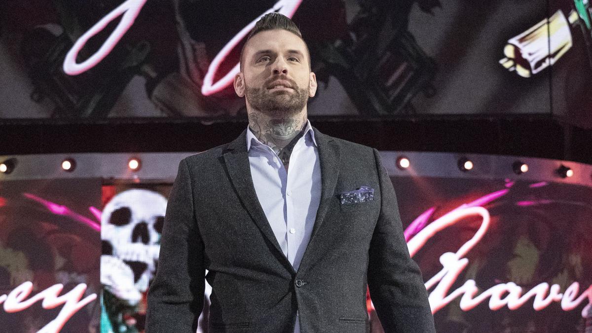 Corey Graves volta a treinar no ringue após cinco anos