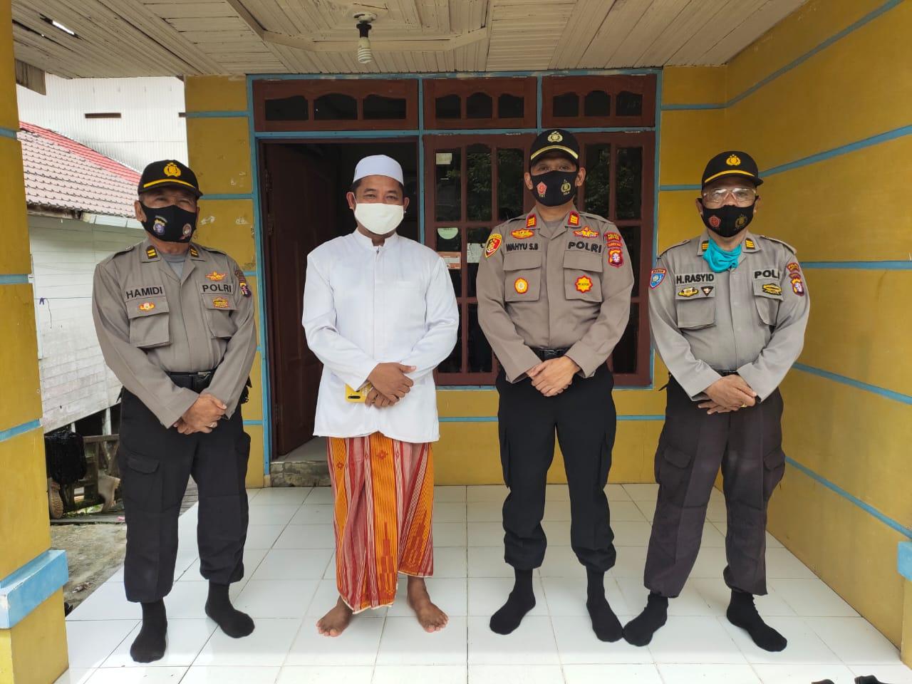 Ciptakan Situasi Kamtibmas yang Kondusif, Polsek Teweh Tengah Silaturahmi dengan Tokoh Agama