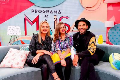 Eliana, Maisa e Hugo Gloss - Foto: Gabriel Cardoso/SBT