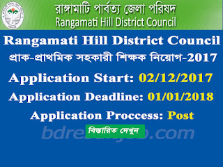 Rangamati Hill District Council Teacher Job Circular 2017