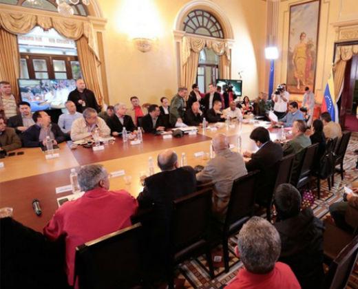Maduro lanzó la Gran Misión Abastecimiento Soberano y Seguro