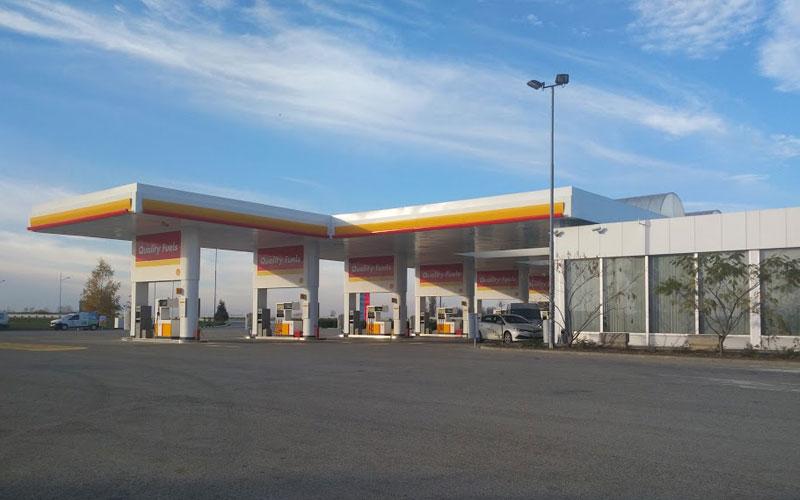 Shell Petrol Adasevci (Sırbistan Yönü)