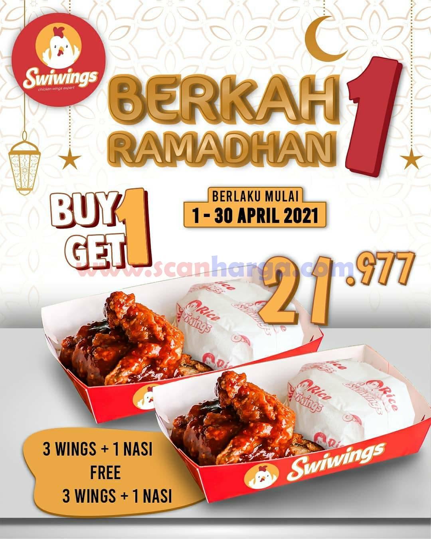 Swiwings Promo Paket Berkah Ramadhan - Beli 1 Gratis 1