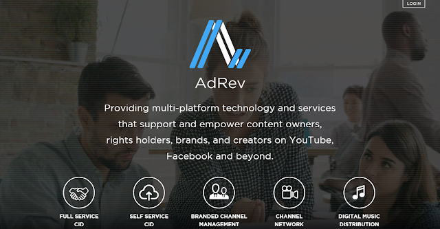 AdRev - Adsense alternatives to monetise your YouTube channel
