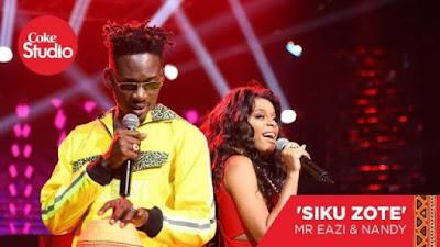 AUDIO: Mr Eazi Ft Nandy - Siku Zote (Official Mp3). || DOWNLOAD
