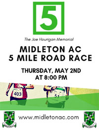 Midleton 5 mile - Thurs 2nd May 2019 - Limited entries