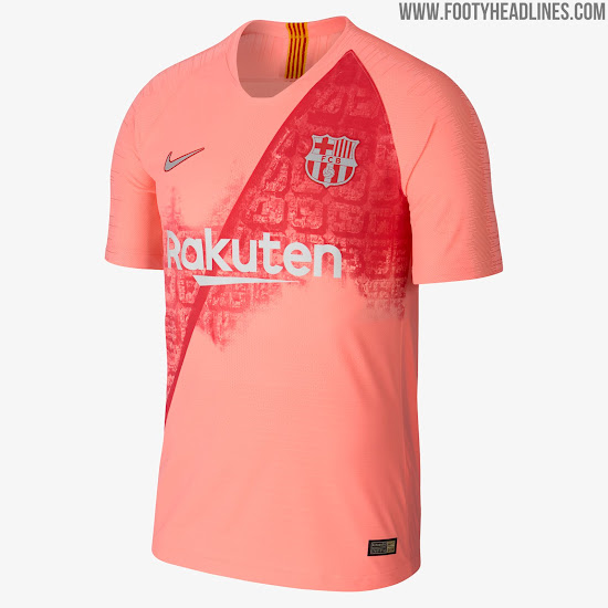 best sneakers 3d1b8 bfb2b Nike 18-19 Third Kits Released - Barcelona, Chelsea, Man ...