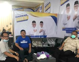 Cabup Sukabumi Marwan Hamami dan Hendar Darsono