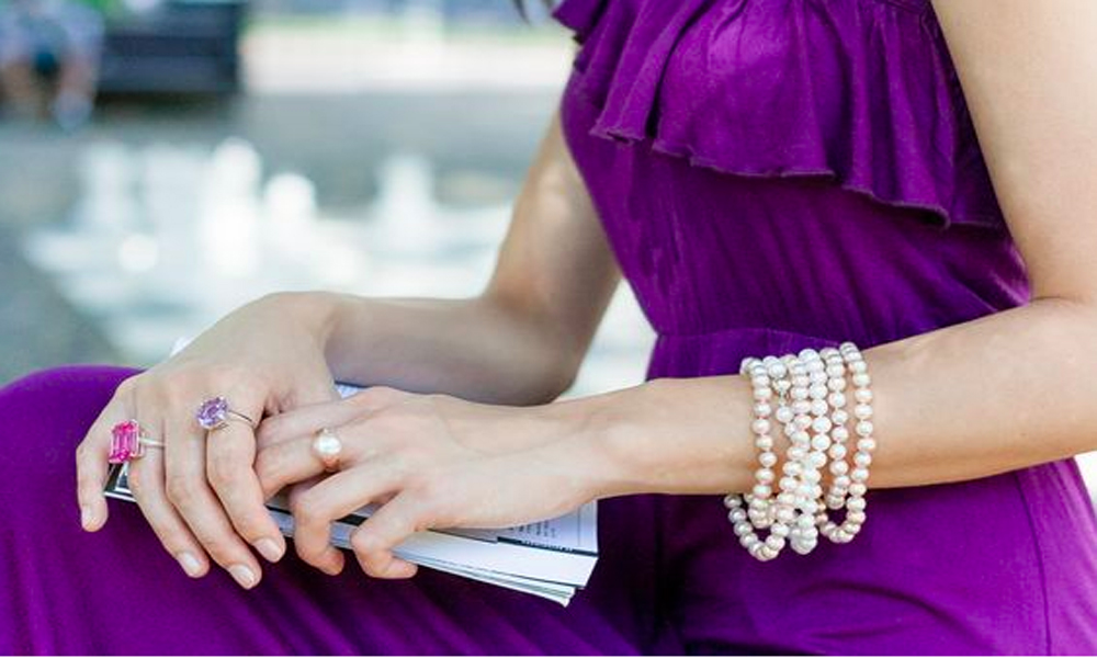 How to Create Cool Skin Bracelets with Pearls