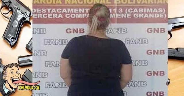 Detenida mujer extorsionista que operaba con la banda de El Patrón en Trujillo