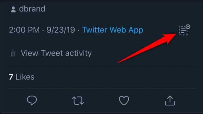 how to hide twitter replies