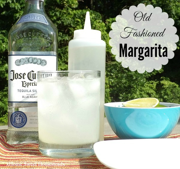 Home Sweet Homestead: Old Fashioned Margarita