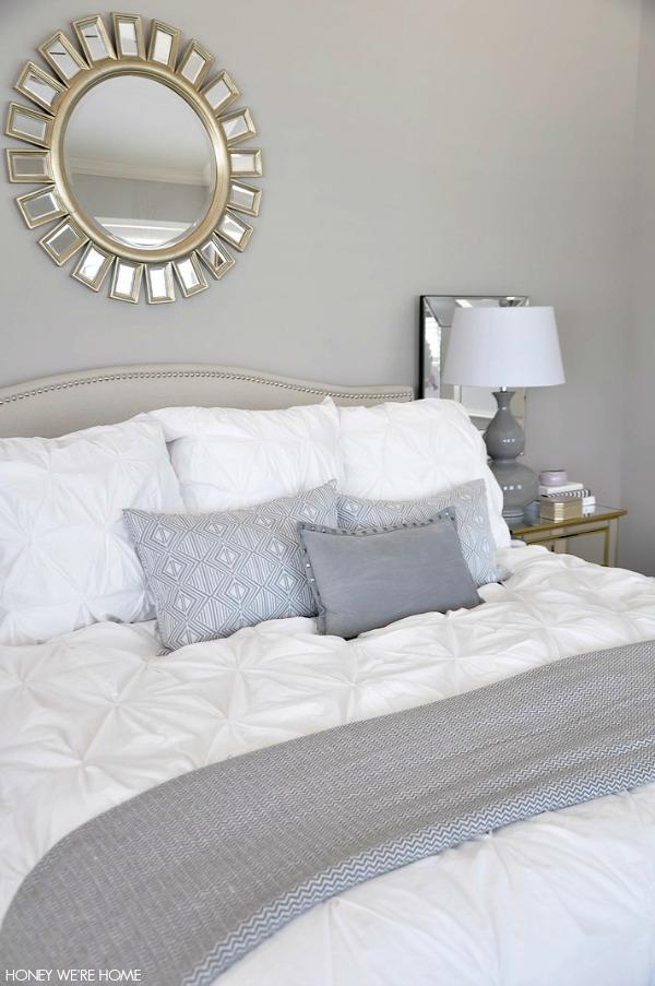 Honey We're Home: Neutral Master Bedroom Refresh