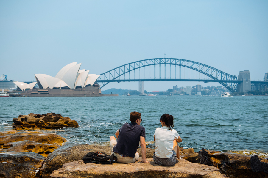 Mrs Macquarie's Chair by Destination NSW
