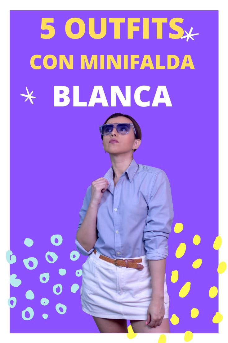 COMO COMBINAR FALDA DE MEZCLILLA BLANCA CORTA. Outfits con minifalda para verte siempre arreglada en la temporada de Verano. 5 Outfits con outfits con minifalda de mezclilla.