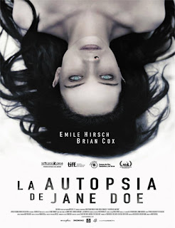 Ver La Autopsia de Jane Doe (The Autopsy of Jane Doe)  (2016) película Latino