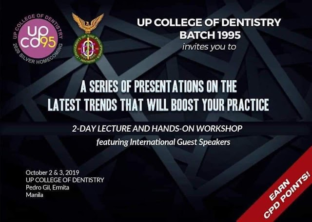 """UPCD Class of 1995: """"Dental Technologies that Actually Work!"""""""