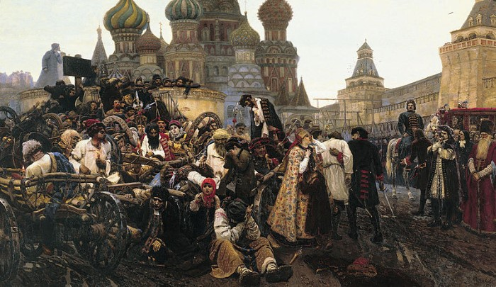 Василий Суриков слышал прошлое и ломал реальность 11