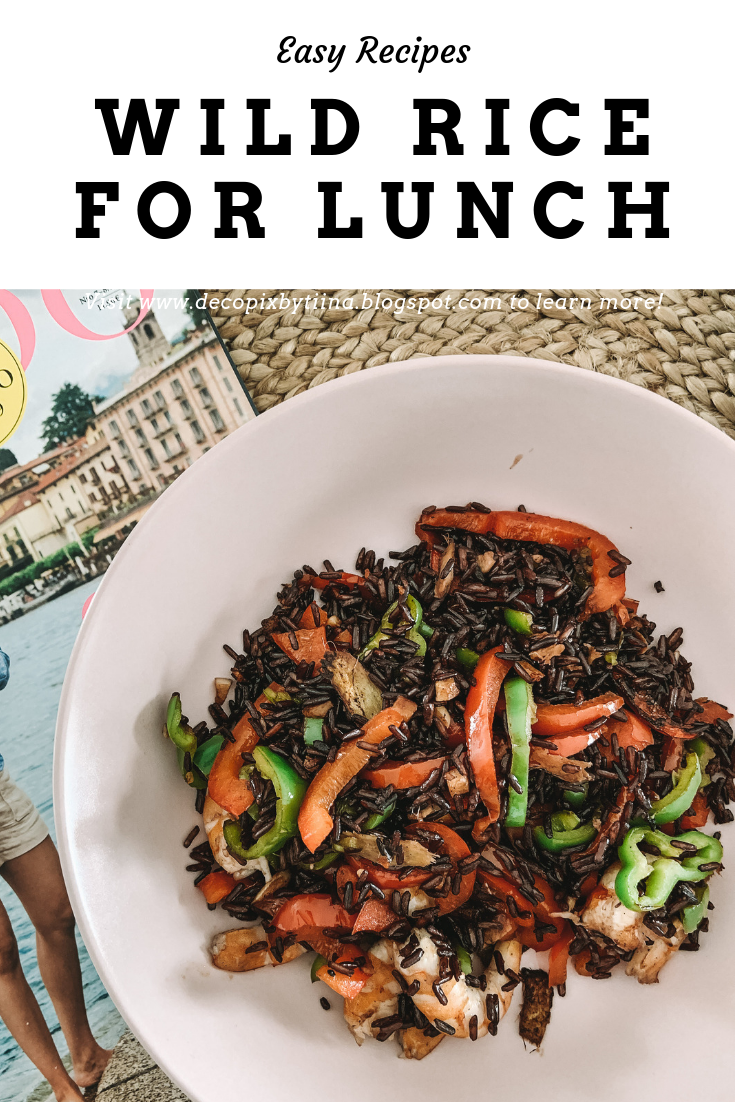 Easy recipe for fried wild rice
