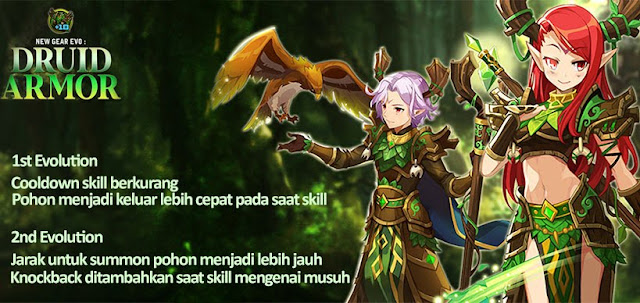 Druid Armor Evolution Lost Saga Indonesia
