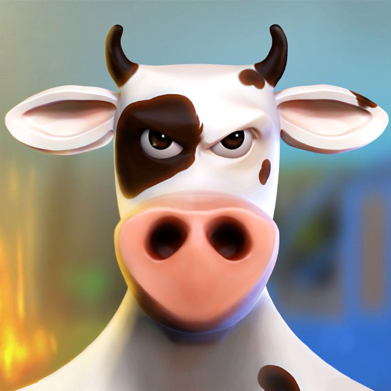Vaca de Batalha - Battle Cow Unleashed (BCU) v0.6.3 Apk Mod [Dinheiro Infinito]