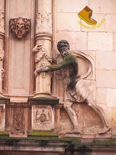 Detalle Fachada Universidad de Alcala de Henares