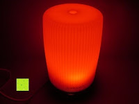 rotes Licht: E-PRANCE®100ml Aroma Diffuser Aromatherapie Diffuser Ultraschall Luftbefeuchter mit LED Farbwechsel,leise