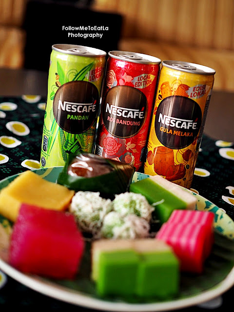 NESCAFÉ® Gula Melaka (7-Eleven), NESCAFÉ® Rose Bandung (Petronas), and NESCAFÉ® Pandan (Shell)