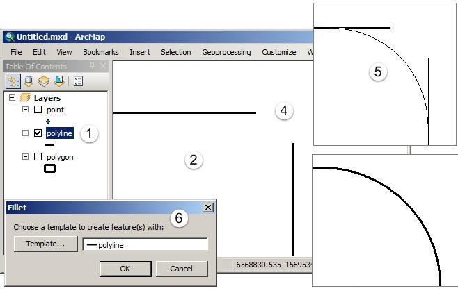 Editing Fitur pada ArcGIS (Tingkat Lanjut) - Fillet