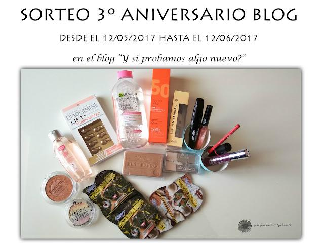 Sorteo 3º Aniversario blog