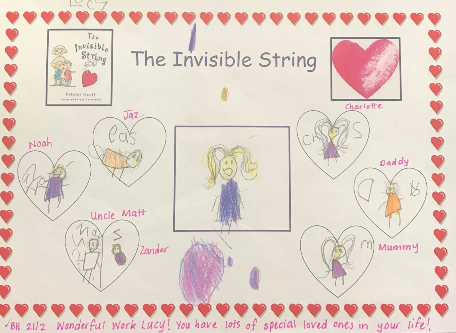 Junior Learning Community The Invisible String