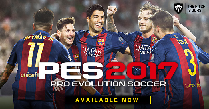 تحميل لعبة Pro Evolution Soccer 2017 RePack CorePack مضغوطة + كراك CRACKFIX-CPY برابط مباشر و تورنت