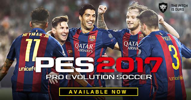 تحميل لعبة Pro Evolution Soccer 2017 مضغوطة بنسخة RePack CorePack برابط مباشر و تورنت