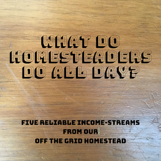 what do homesteaders do all day