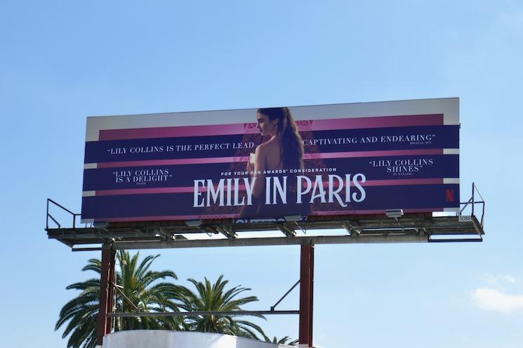 Emily in Paris season 1 FYC billboard