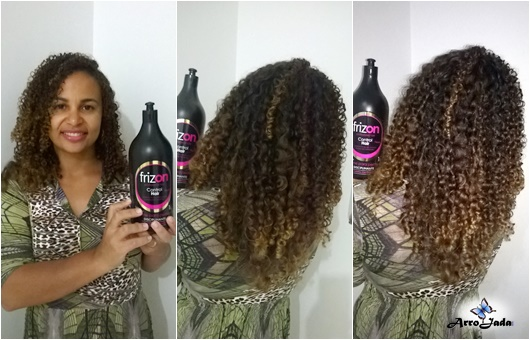 Creme de Pentear Frizon Control Hair Cabelo Cacheado
